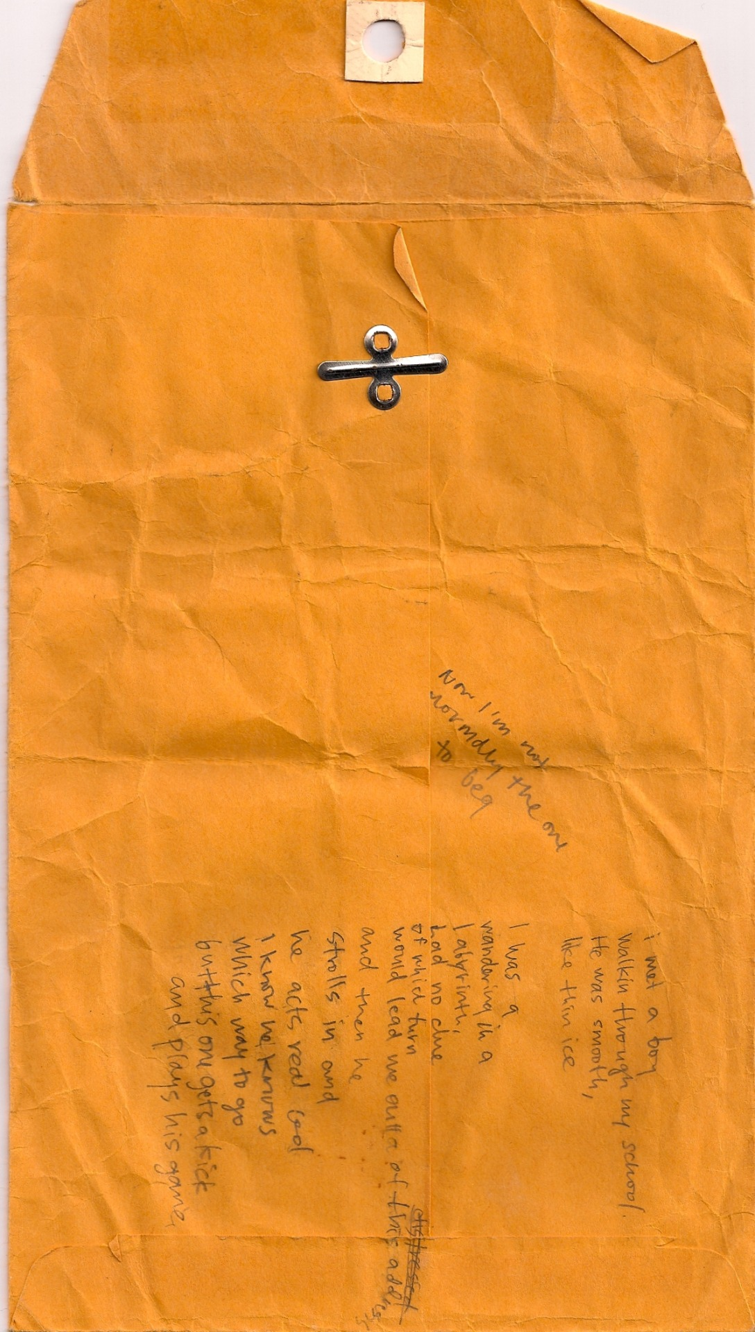 More envelope lyrics.