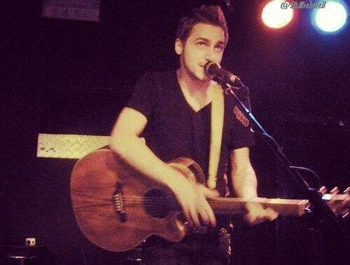 My best picture from Kendall at the HeffronDrive concert in cologne!  @ItsmicheleB please do not use it as your own! :)