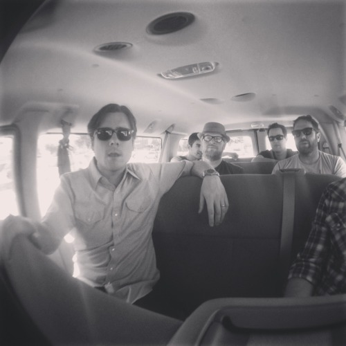 "jimmyeatworldnews:  Yuma AZ Bound  Exclusive: Jimmy Eat World launch new website, ""In The Van With Jimmy Eat World"""