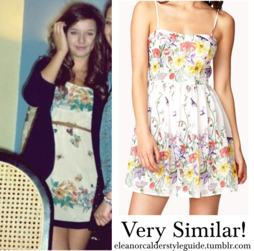 Forever 21 are selling a really similar dress to Eleanor's Kate Moss one. You can buy it here!
