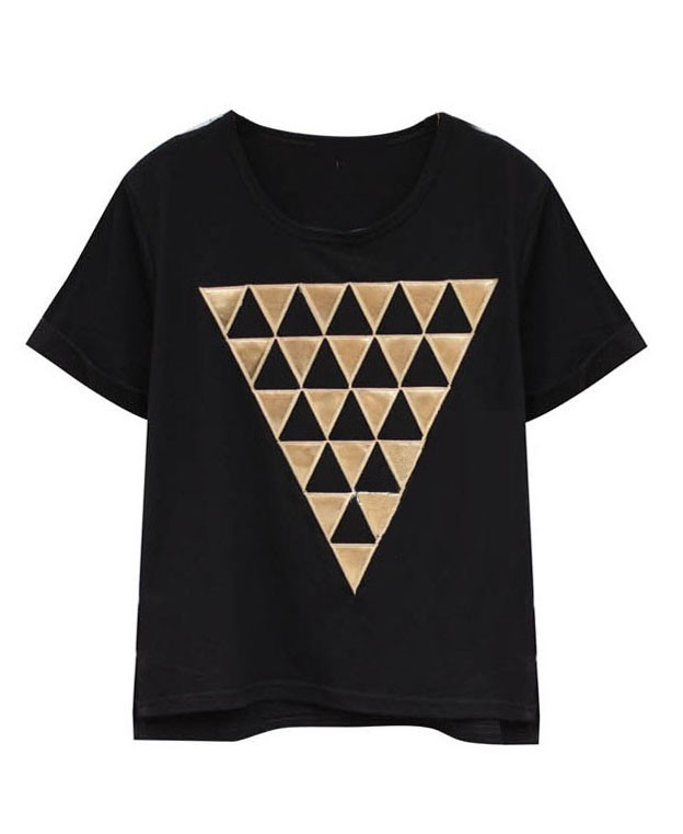 http://www.chicnova.com/black-oversized-t-shirt-with-golden-triangle-print.html