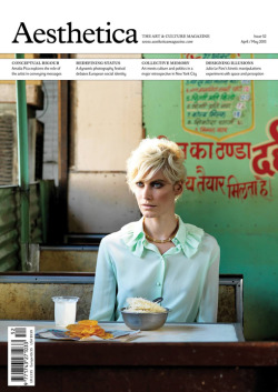 Delfine photographed by Bharat Sikka. Aesthetica April 2013