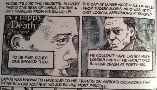 death and absurdism in camus s the Why is the book titled the stranger who is the stranger supposed to represent  why does he start out his book with maman died today  the ideals of  existentialism seem to be imbedded heavily in this scene as meursault harshly.