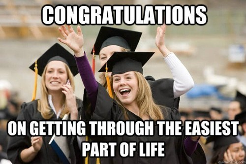 thedailywhat:  Happy Graduation, Class of 2013 We're proud of you all. The world is your oyster, go get 'em!