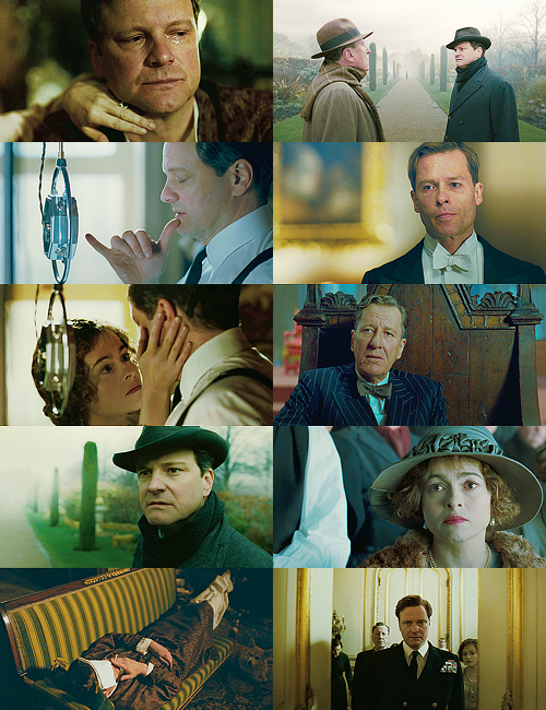 marthajefferson:  screencap meme » The King's speech + My Emotions!