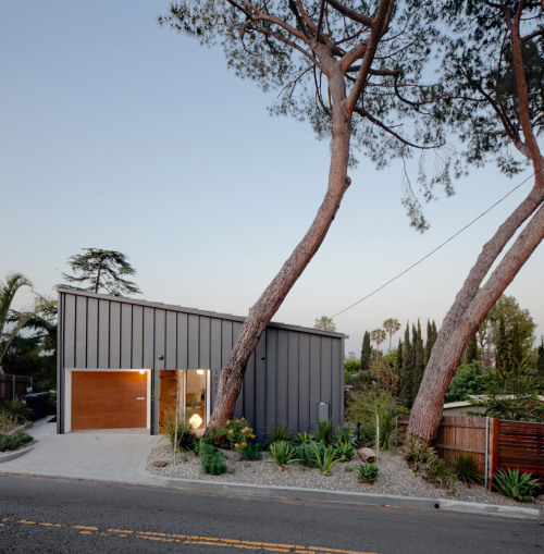 anonymous architects: big and small house, los angeles