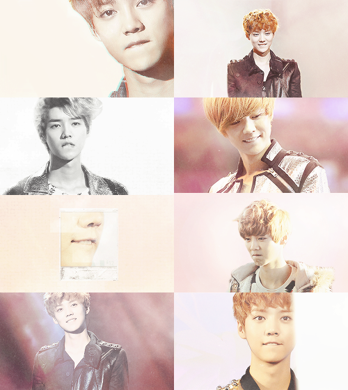 why luhan is perfect: his lip bite