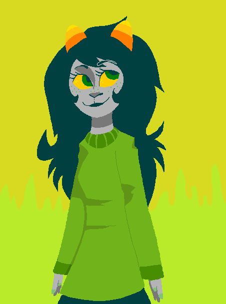 lineless mspaint shit drawn with a mouse so someone told me to redraw their meulin and i was like why the fuck not