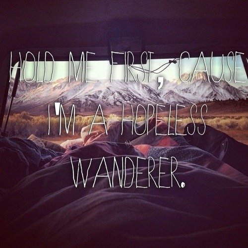Hopeless Wanderer on We Heart It. http://m.weheartit.com/entry/49428766/via/givinitsocks