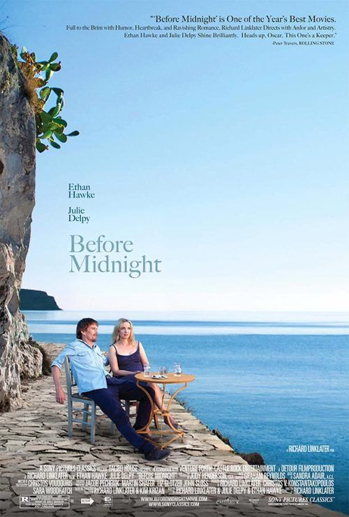 Are Celine (Julie Delpy) and Jesse (Ethan Hawke) watching the sun set? Is midnight approaching on their storybook romance? We'll find out May 24 — but in the meantime, how about this exclusive poster?