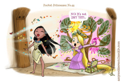 Pocket Princesses #43: Que que natura (or not!)  Please reblog, don't repost!