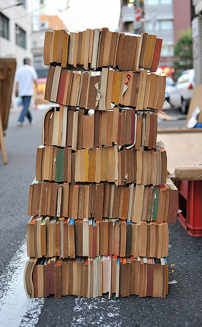Bookstack by Camera Freak on Flickr.
