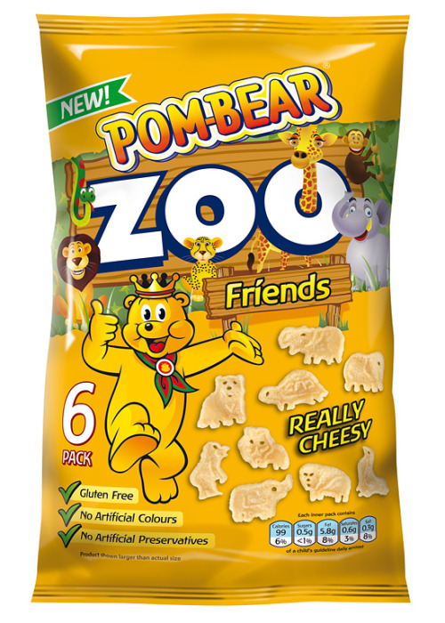 Pom-Bear Zoo snacks from Intersnack