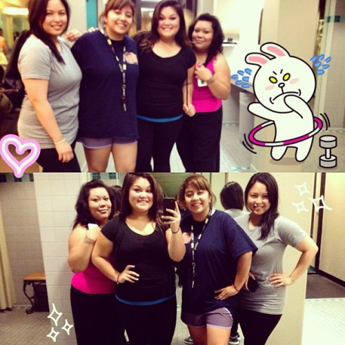 Lmfao! Photo-sesh after our #gymsesh💪🏃🙌💦 #goldsgym #fitspo #tndo #operationsexy-but lazy-but not giving up-FatGirl in full-effect muahaha 😂 (at Gold's Gym)
