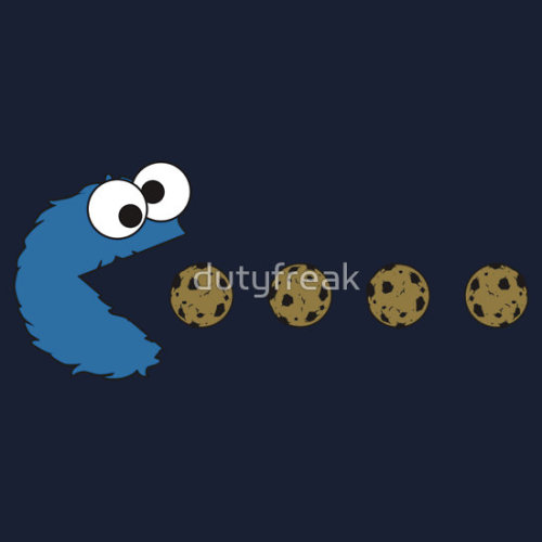 dutyfreak: Cookie Monster Pacman