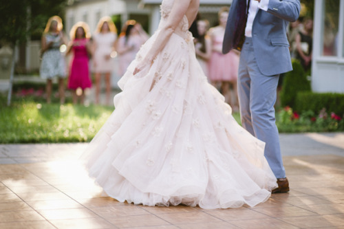 "everythingsparklywhite:  This latest advice series is about ""Ten Common Wedding Day Mistakes."" I'll feature a different one in each post.  5. Not Planning Out Time for Family Pictures Family pictures are important.  Your wedding day is probably one of the few times in your life that you will have this particular group of family all in the same place at the same time.  You definitely want to get photos of them all together.  That being said, as you probably know from many family parties, gathering everyone together can be a challenge if it's not planned out.  So, how do you avoid the chaos?  First, decide how large you want the groups to be (just immediate family? aunts and uncles? all of the cousins?)  Then, let them all know ahead of time (at the rehearsal dinner or the week before the wedding) when and where the family photos will be taken.  We recommend scheduling this immediately following the ceremony if you're not doing a ""First Look"" and about an hour before the ceremony begins if you are.  This way, family members look their best (pre-partying) and it saves the trouble of having to round all your family members up once the reception begins, which can be a difficult task.  Lastly, select a few close family members (preferably ones that don't also happen to be in the wedding party), to help round up the family on the day so that you don't have to.  Also, if you have a particularly large or diverse family, don't be afraid to make a list and give it to us.  That way we can even rattle off the names of the family members you would like in the picture to make sure they are all there, know all the groupings you would like and make sure that you don't forget that important picture you wanted with your godmother. Previous Posts: #1, #2, #3, #4"