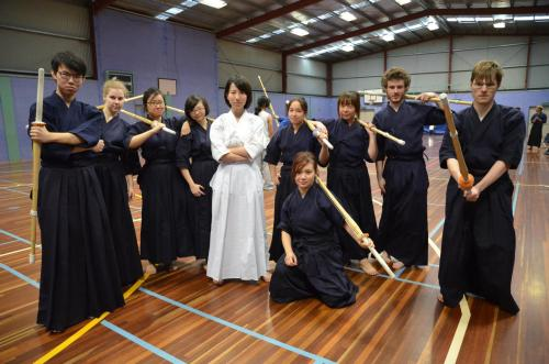 Kendo Camp @ Apollo Bay Haha this was a fun one to take. Tried our best to have straight/mean faces.