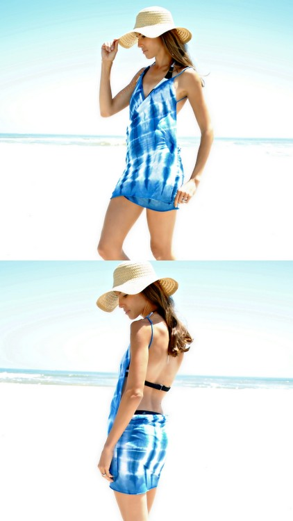 truebluemeandyou:  DIY Easy Knockoff Victoria's Secret Cover Up from Trash to Couture here. For the original Voctoria's Secret knockoff (with pattern and how to wrap it) go to my post on La Vie en Rose's cover ups here. For all DIY cover ups I've posted go here: truebluemeandyou.tumblr.com/tagged/cover-up