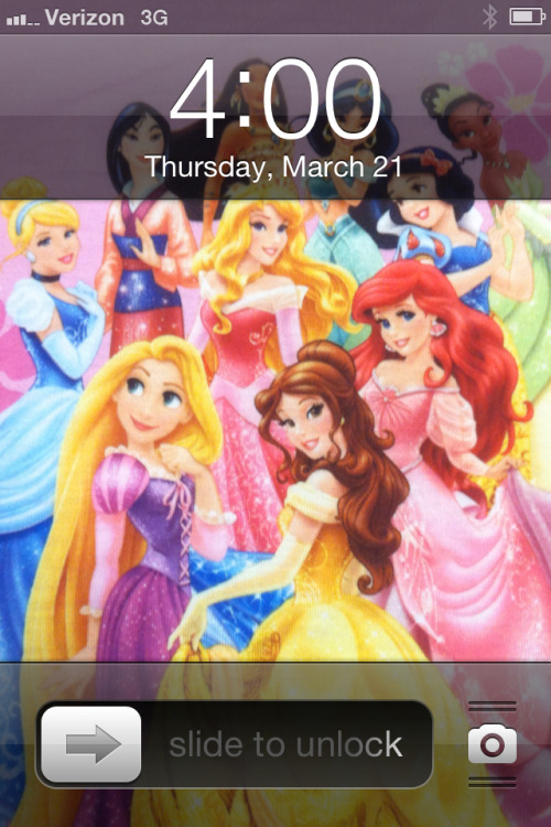 You know you're jealous of my phone background. Haha
