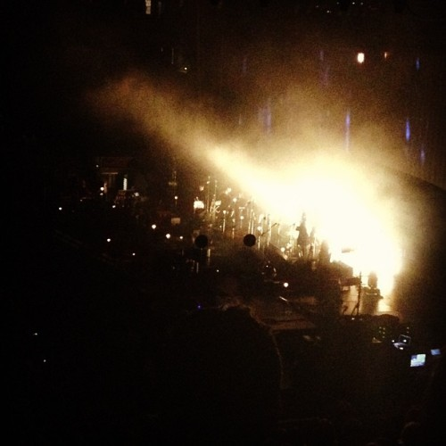 gypsygurl:  Sigur Ros was the best live performance I have ever seen in my life 💘 thank you Brad for taking me 😊  best band in the world.