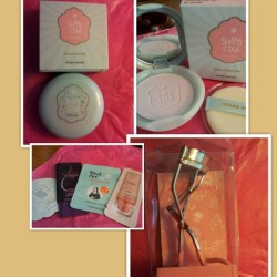 Freebies from Etude house courtesy of Amazon.