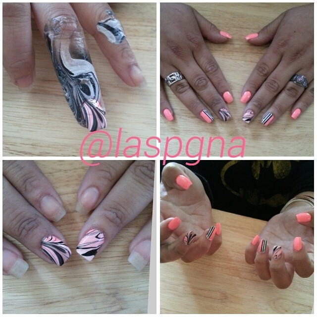 I did my friend's nails today .Instagram me ;)