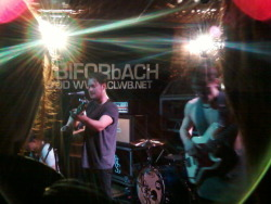 Saw Jim Lockey & the Solemn Sun at Clwb Ifor Bach, Cardiff.