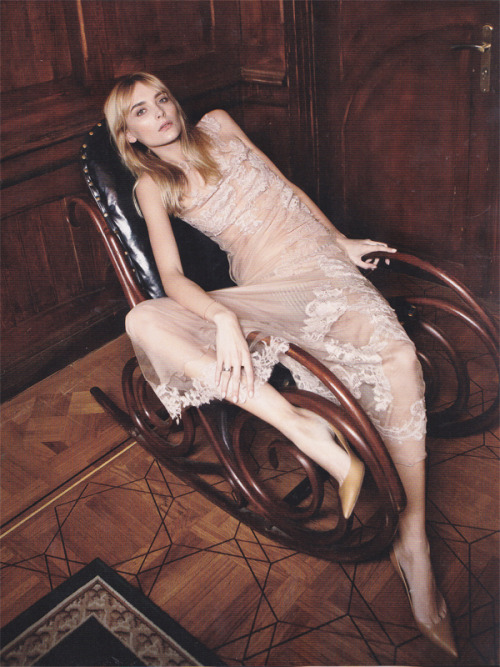 Snejana Onopka by Yelena Yemchuk for Vogue Ukraine March 2013