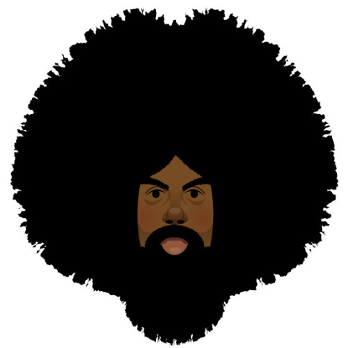 stanleychowillustration:  Reggie Watts for Wired Magazine