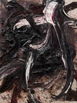 arpeggia:  Kazuo Shiraga - Composition BB41, 1962, oil on canvas | More posts