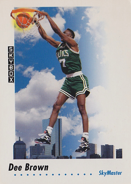 1991-92 SkyBox #577 Dee Brown SM