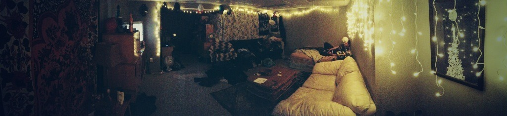 Me and boyfrans living space <3