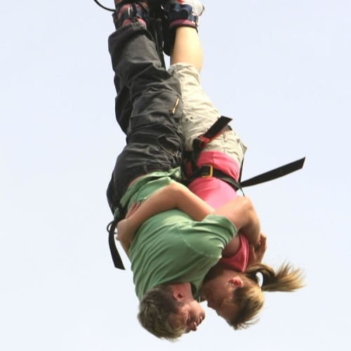 #3 Bungee Jumping This is my third wish. There will be love, sacrifice, affection, and feeling of care is mixed up on adrenaline