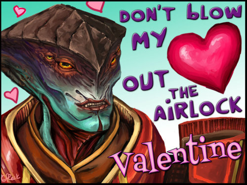 efleck:  Mass Effect Valentine - Airlock  omg his… smile.