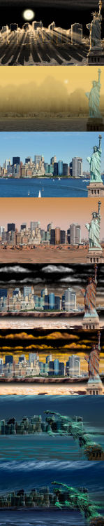 What New York City would look like on other planets.