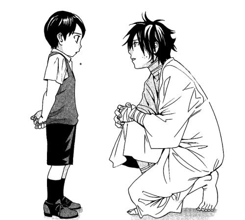 jyminie:  yato and baby ebi                ヽ(;▽;)ノ