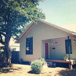 cutest house that is our homebase this weekend #austin