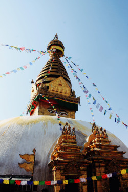 theadventuresofmo:  Buddha Stupa in Kathmandu, Nepal. To see more of my Nepal pictures, check out my blog here!: http://bit.ly/13D8hMg