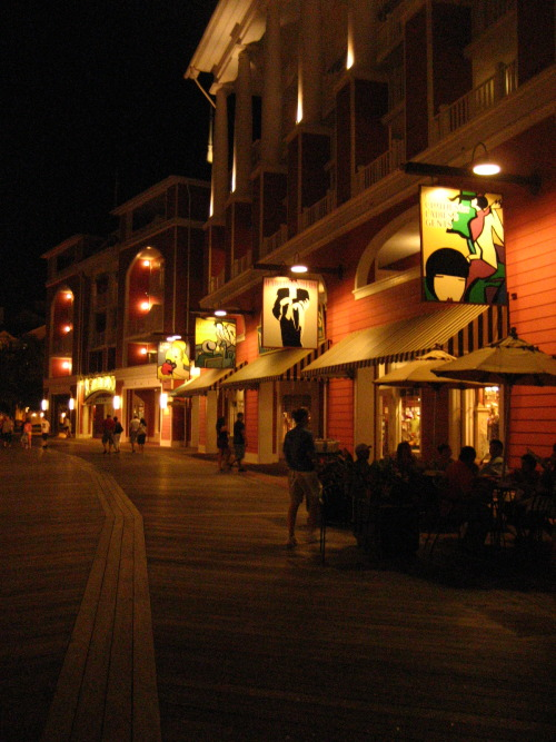 Disney Boardwalk at night (2009)