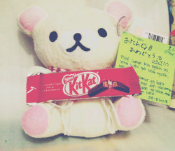mutiamumut:  A Rilakuma from my bestfriend {}