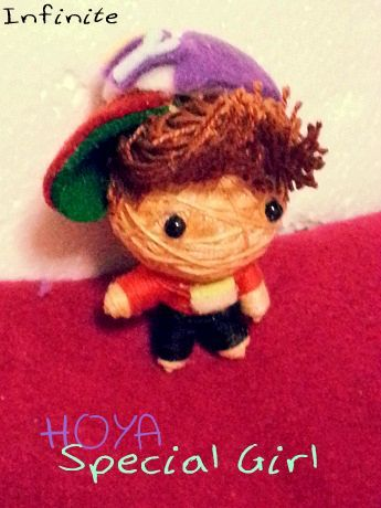 theknottyloft:  Infinite H - Special Girl - HOYA Mini String Doll