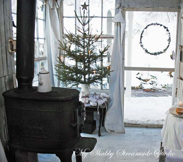 Shabby-chic Christmas