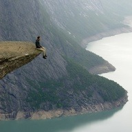 Trolltunga, Norway http://bit.ly/10IKCur