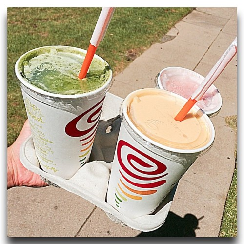 Stay hydrated #jambajuice #refreshing #itwasntenough #stillhotaf