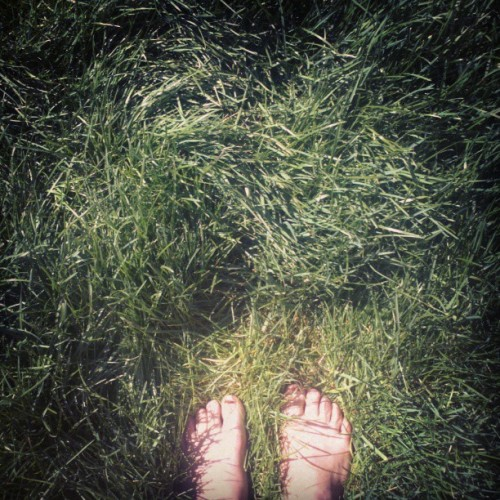 Summertiiiiiiime #greengrass #ineedtopaintmytoes
