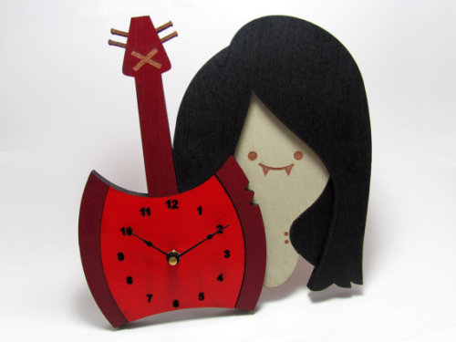 Marceline the Vampire Queen Clock sold by alantronics $39.99