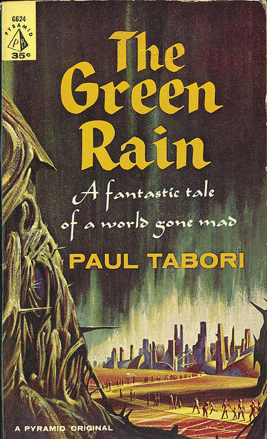 Paul Tabori - The Green Rain (Pyramid G624) on Flickr.John Schoenherr (5 July 1935 - 8 April 2010)Via Flickr: Tabori, Paul The Green Rain 1961 Pyramid G624 Cover by Schoenherr, John