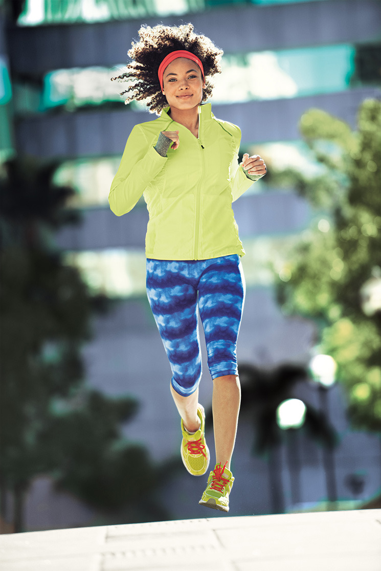 tjmaxx:  Trending: Bright Workouts Make a statement when you hit the pavement.