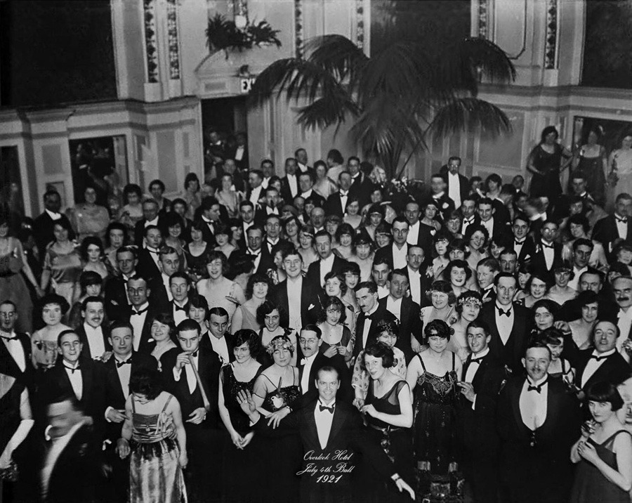 The Shining - Photograph from the 1921 July 4th Ball