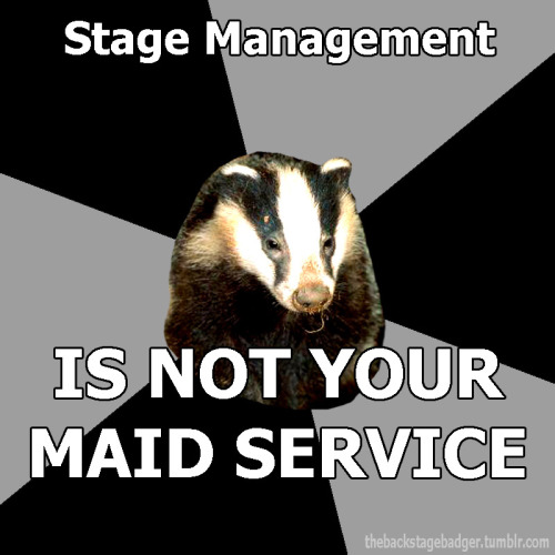 Submitted by warningstandbygo Official Backstage Badger Shirt Information Here!